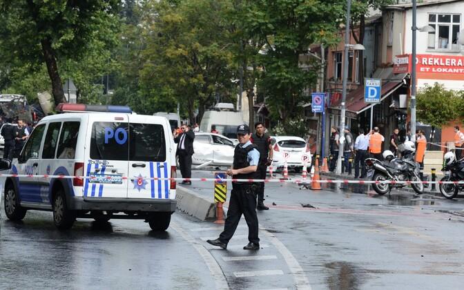 Türgi politsei.