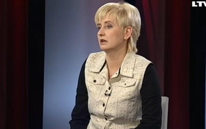 Läti korruptsioonitõrjebüroo (CPB) asejuht Juta Strīķe.