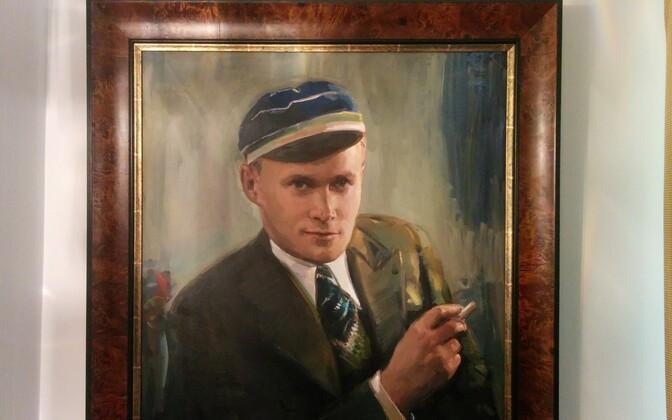 Leonhard Raukas as a student