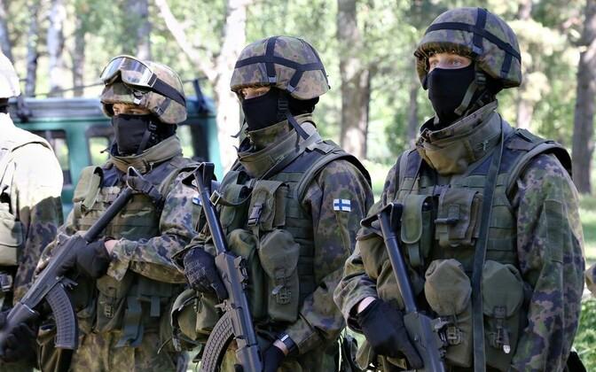 Soome kaitseväe praegune lahinguvorm M05.