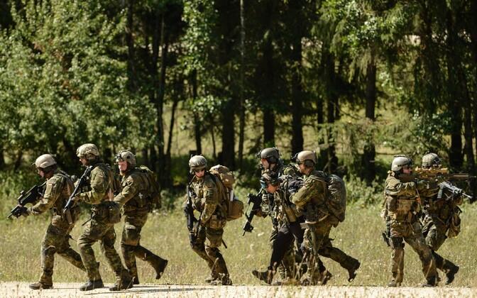 Saksamaa eriüksuslased NATO õppusel.