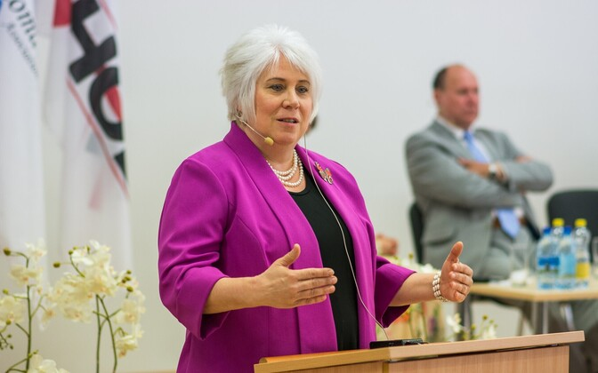 Minister of Foreign Affairs Marina Kaljurand.