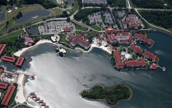 Sündmuskoht, Orlandos asuv Disney's Grand Floridian Resort & Spa.