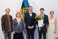 Pärt Uusberg sai presidendilt noore kultuuritegelase preemia