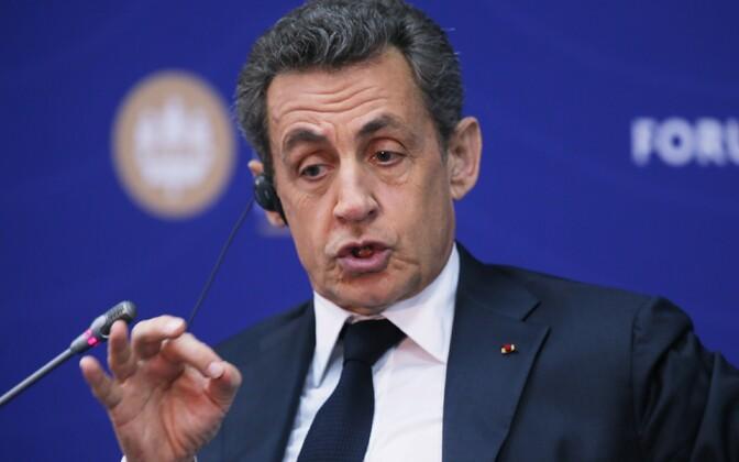 Nicolas Sarkozy 16. juunil Peterburi majandusfoorumil.