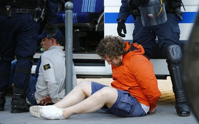 Prantsuse politsei Lille'is Vene