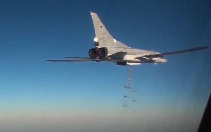 Vene Tu-22M3 sõjalennuk.