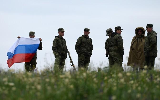 Vene sõdurid.