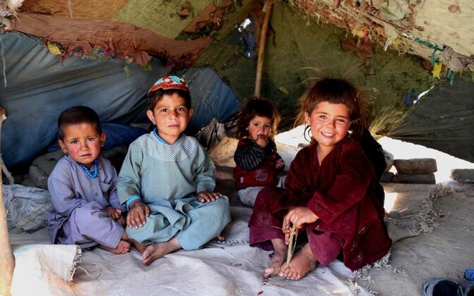 Afganistani põgenikud.