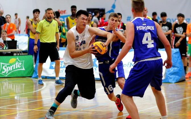 Eesti II võistkond Tartu Jaan Poska gümnaasium alistas Hiina esinduse.