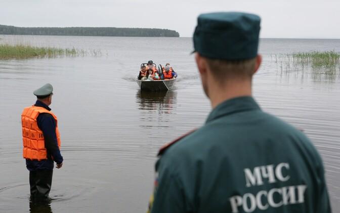 Säämajärvi päästeoperatsioon.