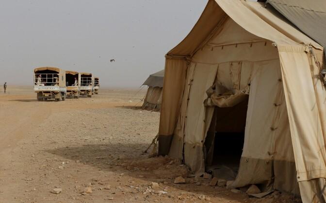 Rakbani põgenikelaager Jordaanias.