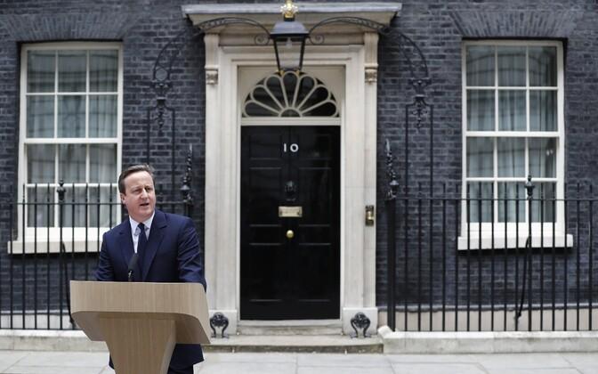 Peaminister David Cameron.