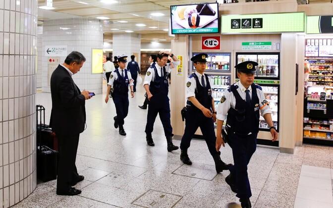 Jaapani politseinikud.