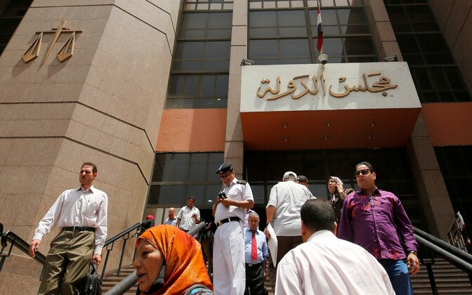 Egiptuse riiginõukogu hoone.