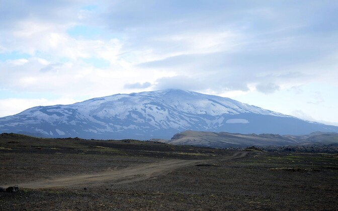 Vulkaan Hekla 2011. aastal.