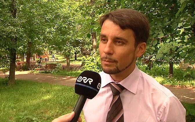 Raivo Susi's lawyer, Arkadi Tolpegin.