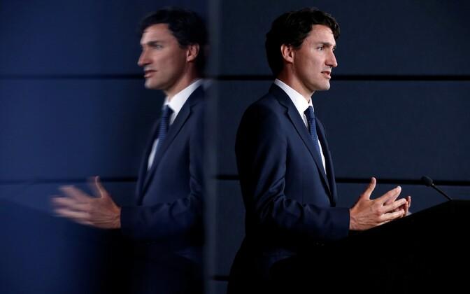 Kanada peaminister Justin Trudeau.
