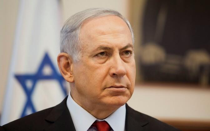 Iisraeli peaminister Benyamin Netanyahu.