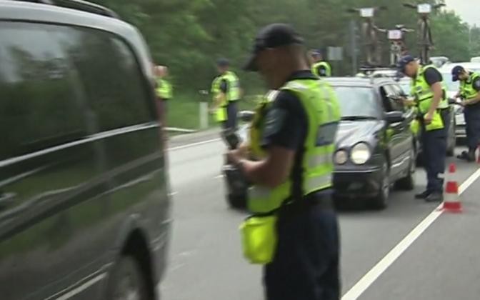 Politsei puhumisreid jaanipühade ajal