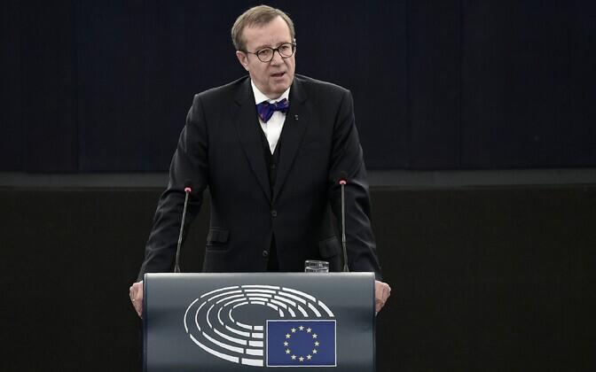 Eesti president Toomas Hendrik Ilves.