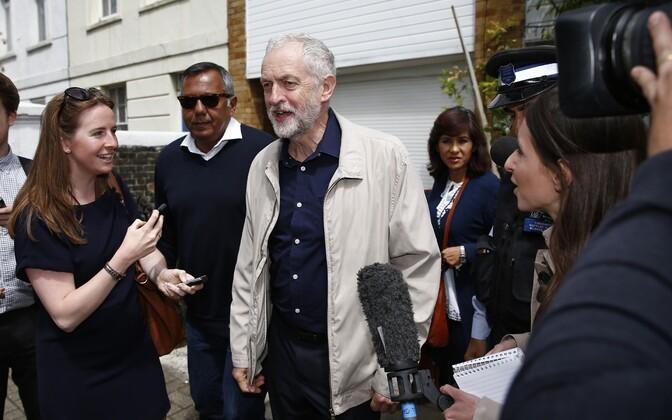 Leiboristide juht Jeremy Corbyn.
