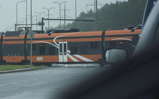 Elroni rong. Foto ei ole pühapäevase õnnetusega seotud.