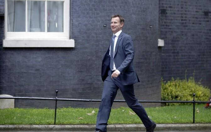 Briti tervishoiuminister Jeremy Hunt.