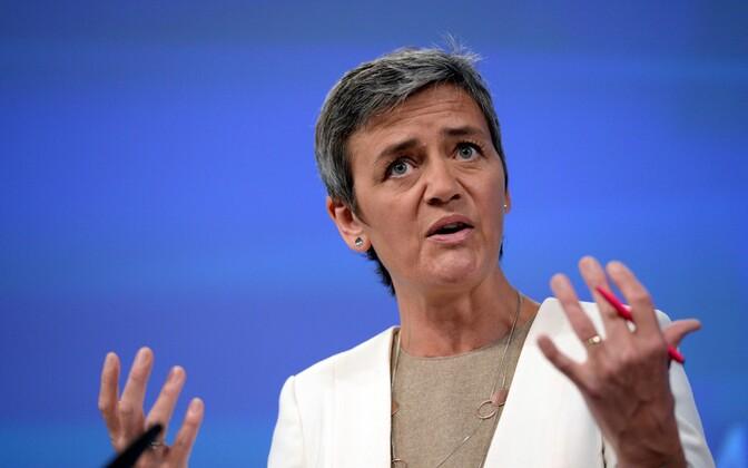 Konkurentsivolinik Margrethe Vestager.