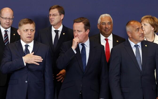 Briti peaminister David Cameron.