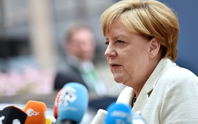 Liidukantsler Angela Merkel.