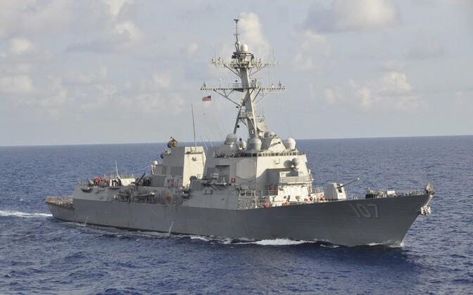 USA sõjalaev USS Gravely.