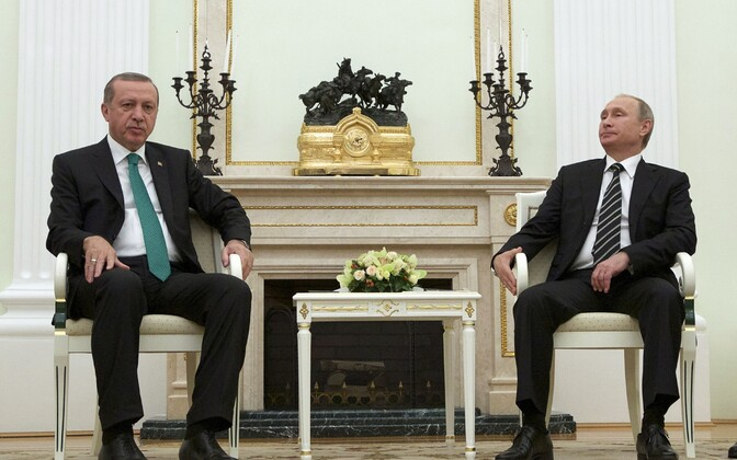 Erdogan ja Putin 2015. aasta septembris Moskvas.