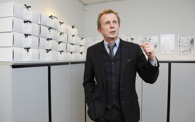 Kultuurkapitali senine juht Olavi Laido.