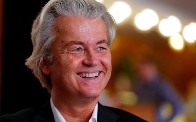Vabaduspartei esimees Geert Wilders.