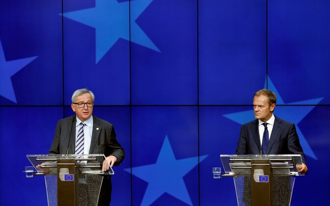 Juncker ja Tusk