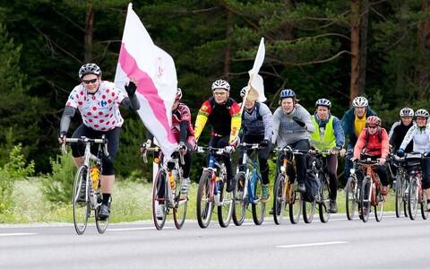 TTÜ lipp liigub Tallinnast Käärikule üliõpilaste suvemängudele.