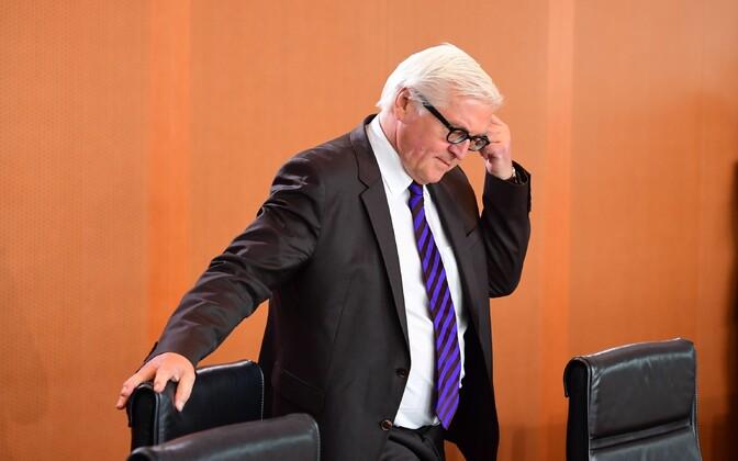 Saksamaa välisminister Frank-Walter Steinmeier.