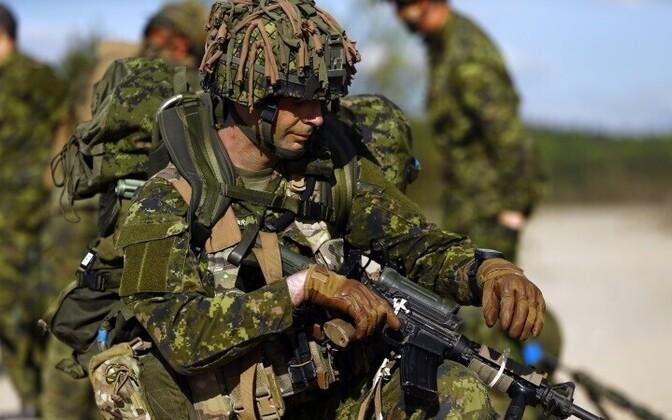 Канадские военные приедут в Латвию.
