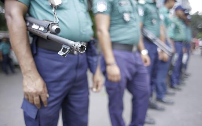 Bangladeshi politsei.