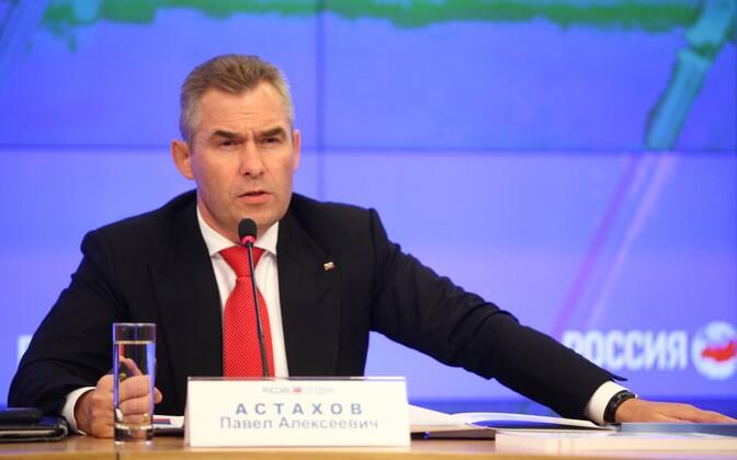 Venemaa lasteombudsman Pavel Astahhov.