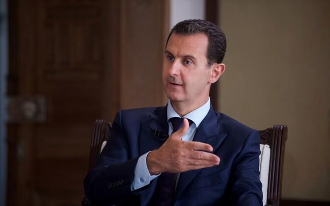 Süüria president Bashar al-Assad.