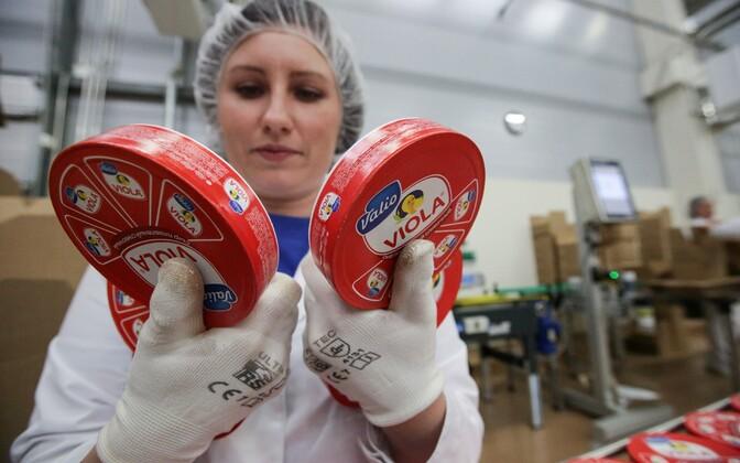 Soome firma Valio sulatatud juustu tehas Moskva oblastis.