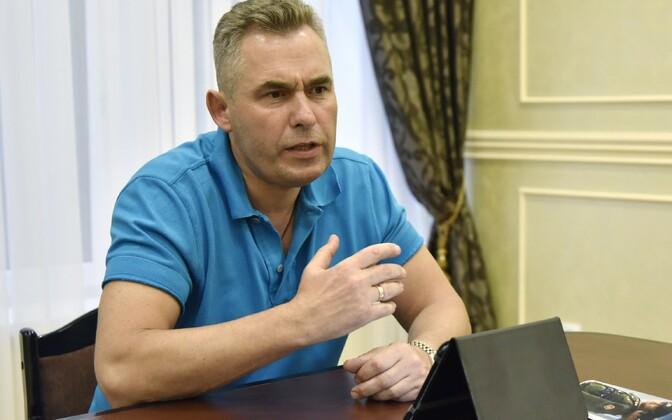 Lasteombudsman Pavel Astahhov 1. juulil Simferopolis.