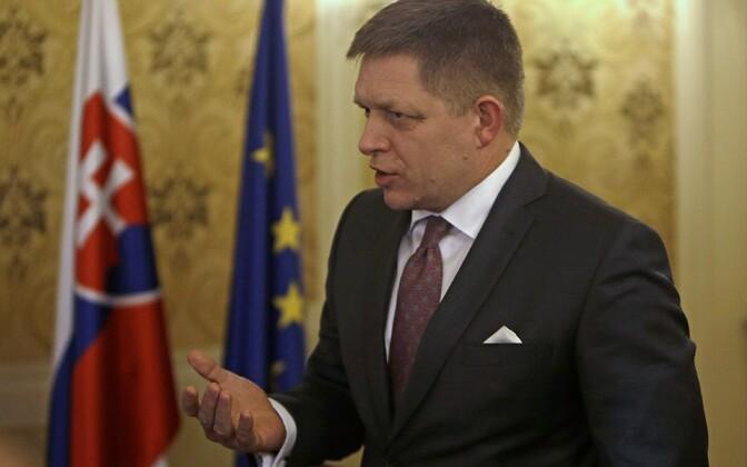 Slovakkia peaminister Robert Fico.