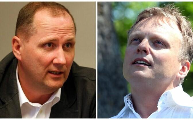 Valdo Randpere ja Imre Sooäär.