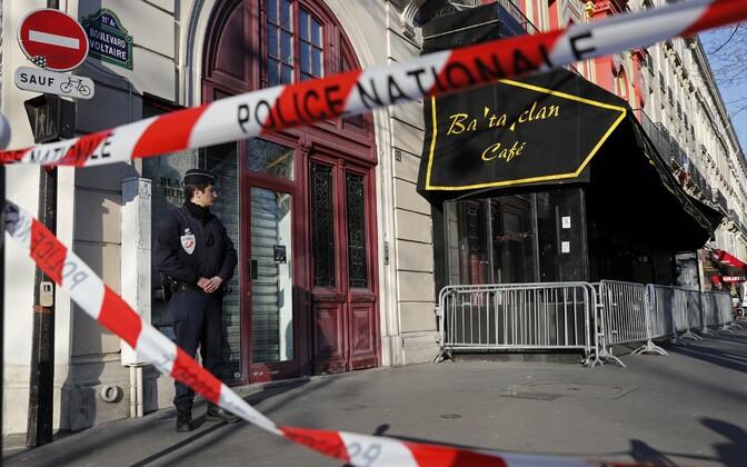 Bataclani kontserdimaja pärast rünnakut.