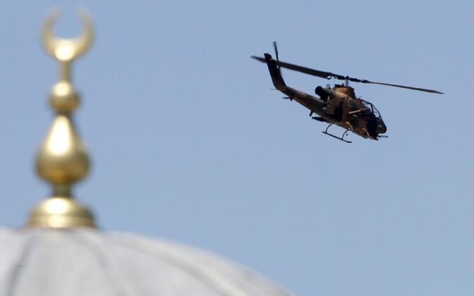 Türgi sõjaväekopter.