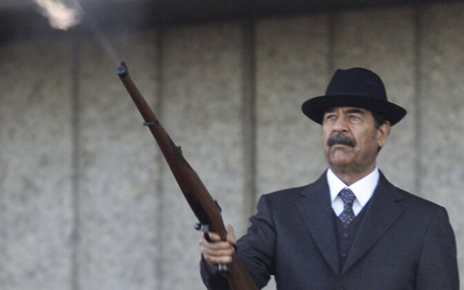Saddam Hussein 2000. aastal.
