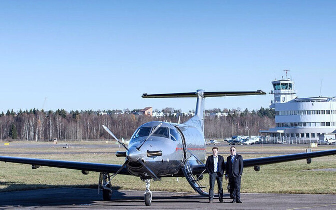 Go! Aviationi lennuk Pilatus PC-12 NG.